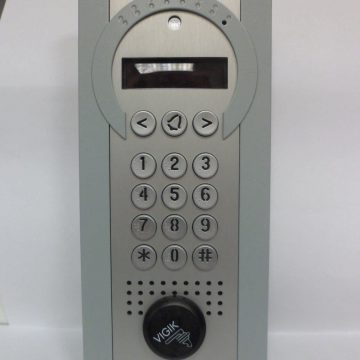 Interphone de résidence visio