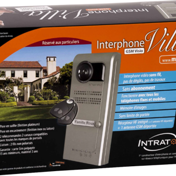 Interphone villa visio 3g intratone
