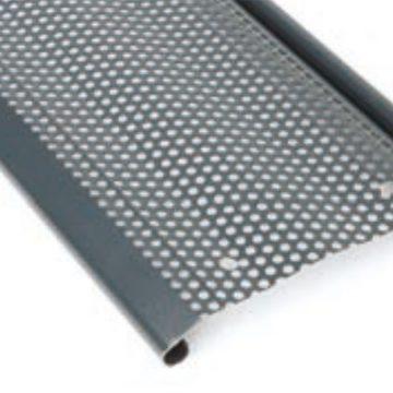 Grille métallique micro perforée